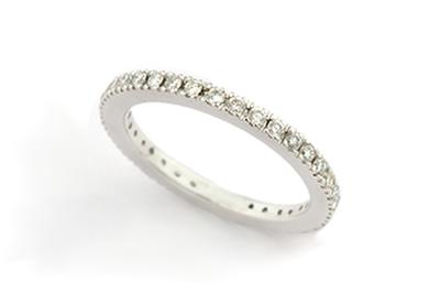 White Diamond Eternity Ring